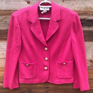 St. John Collection | Pink Button Jacket size 8